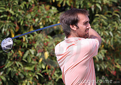 Steve Lewton at the Golf Open de Paris 2009 Editorial Photo