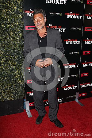 Steven Bauer at the World Premiere of  Editorial Stock Image