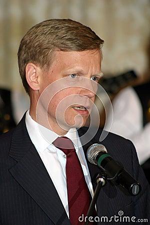 Steven van Groningen Editorial Stock Photo