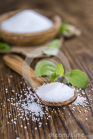 Free Stevia Granules (selective Focus) Stock Images - 72040884