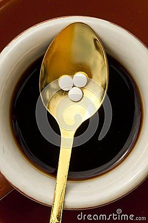 Stevia rebaudiana, support for sugar,tablets