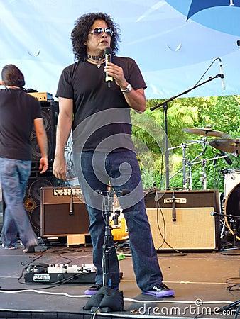 Stevie Salas MC Editorial Image