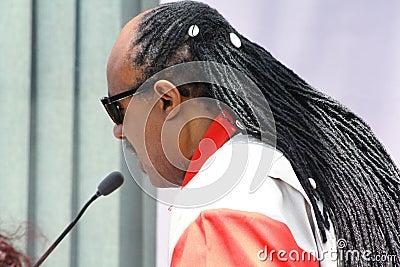 Stevie Wonder Editorial Stock Photo