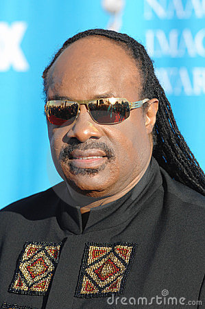 Stevie Wonder Editorial Stock Image