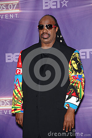 Stevie Wonder Editorial Photo
