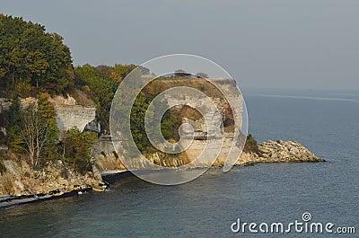 Stevns cliff