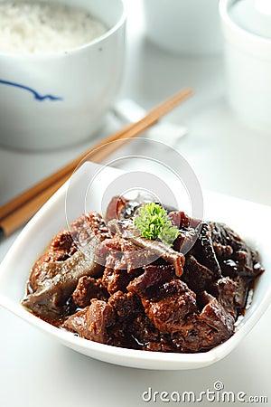 Stew pork