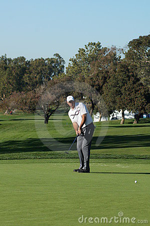 Stewart Cink 2012 Farmers Insurance Open Editorial Stock Photo