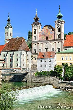 Free Steyr, Upper Austria Royalty Free Stock Photos - 44351028