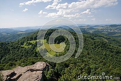 Stiavnicke vrchy, Slovakia