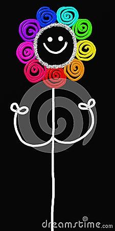 Stick flower