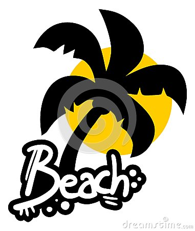 Sticker beach