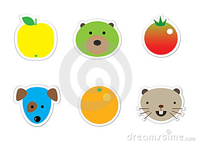 Sticker mix