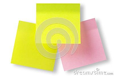 Sticker notes