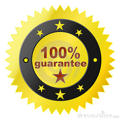 Sticker With Satisfaction Guarantee Royalty Free Stock Images - Image: 8809329