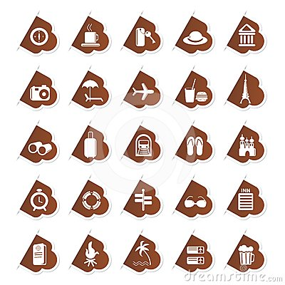 Sticker of Travel Icon