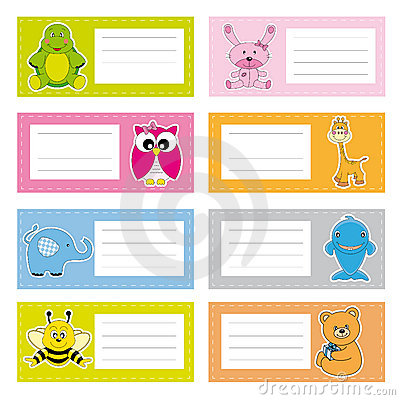 Free Stickers Animals Royalty Free Stock Image - 20902616