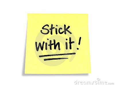 Stickies/Post-it Notes: Stick with it!