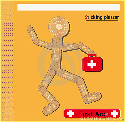 Sticking plaster Figure bags