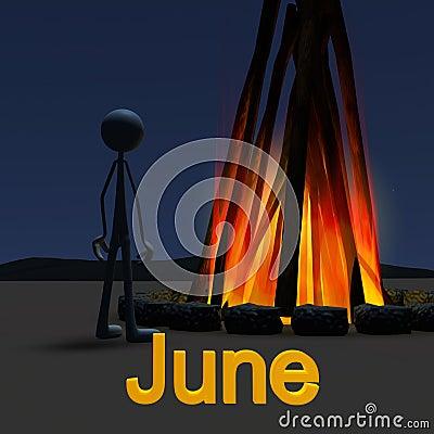 Stickman June