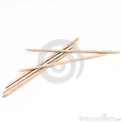 Free Sticks For Nail Care Royalty Free Stock Image - 86661866