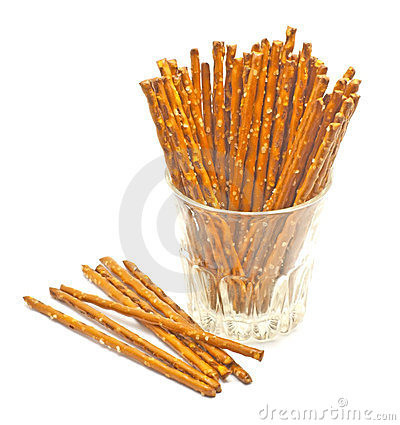 Sticks in a glass
