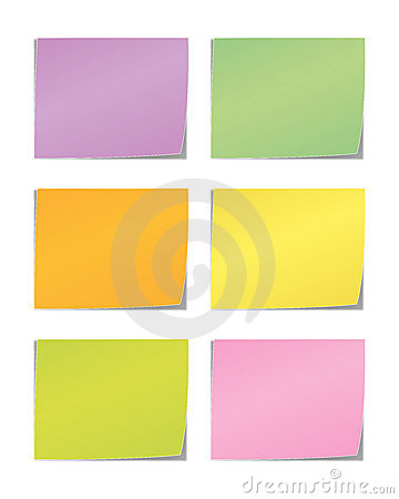 Free Sticky Message Note Royalty Free Stock Photos - 12917278