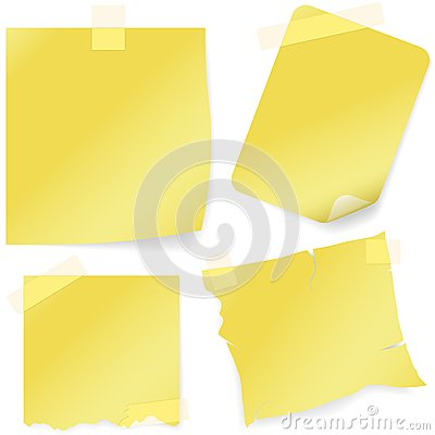 Free Sticky Note Icon Stock Images - 25871164