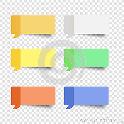 Free Sticky Note Set  Message Box Vector Post Note Royalty Free Stock Images - 96451829