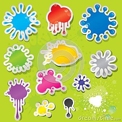 Sticky Splashes