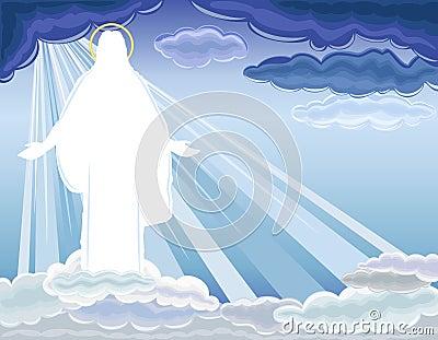 Stigande christ uppståndelse