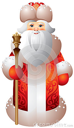 Stijl Matryoshka van Moroz van Ded de Russische