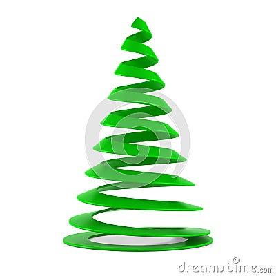 stilisiert weihnachtsbaum im gr nen plastik stockbilder. Black Bedroom Furniture Sets. Home Design Ideas
