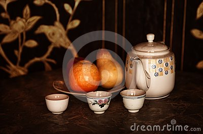 Still life afternoon tea