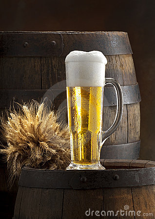 The Still Life With Beer Royalty Free Stock Photography - Image: 18411617