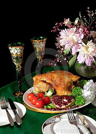 Still-life with the chicken