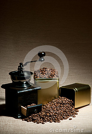 Still life coffee