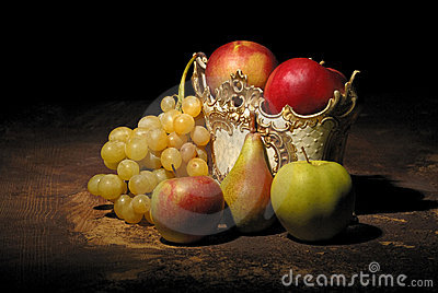 Still life with fruits