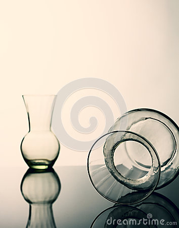 Still life glass.