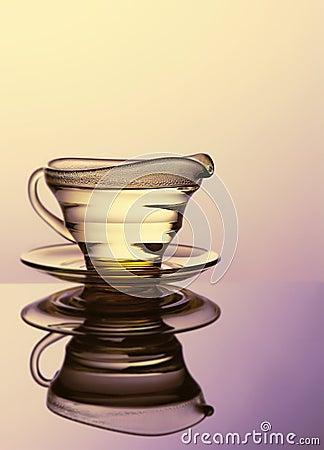 Still life glass.