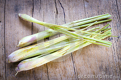 Still life lemon grass