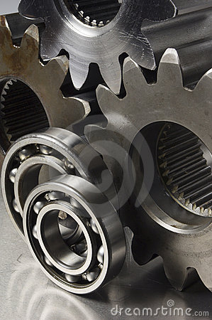 Free Still-life Of Mechanical Parts Stock Photo - 712840