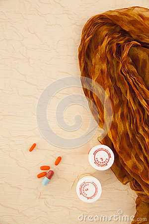 Still life of pills