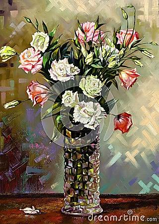 Still-life with a vase