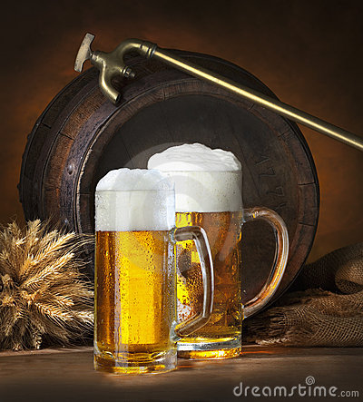 Free Still Life With Beer Royalty Free Stock Image - 13055936
