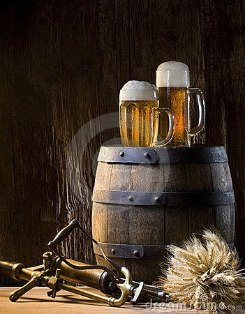 Free Still Life With Beer Stock Photos - 8748413