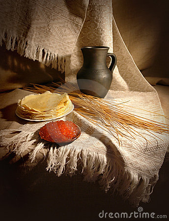 Free Still-life With Caviar Stock Images - 19651794