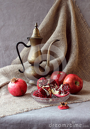Free Still Life With Fruit Royalty Free Stock Image - 63157046