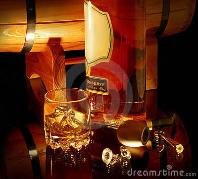 Free Still Life With Whisky Stock Image - 7230701