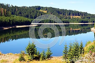 Still mountain lake